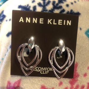 Anne Klein comfort clip earrings